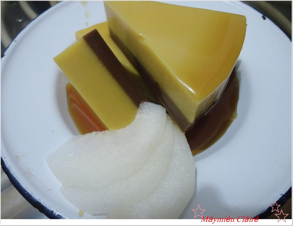 Resep Cake Kukus Labu Kuning Lapis Coklat: MayMien Claire Tsai ( 蔡孟雲 ): RESEP PUDING LABU KUNING DAN