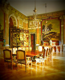 Palácio Errázuriz, Buenos Aires: Salão de Jantar em Estilo Luis XIV