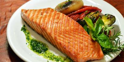 Salmon Grillado con Miel receta