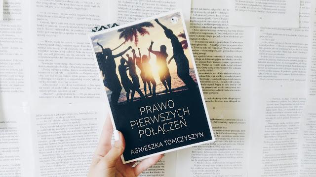""",,Prawo pierwszych połączeń"""" Agnieszka Tomczyszyn"""