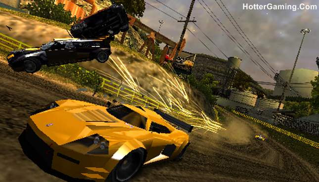 Burnout Dominator PSP Game Highly Compressed Download