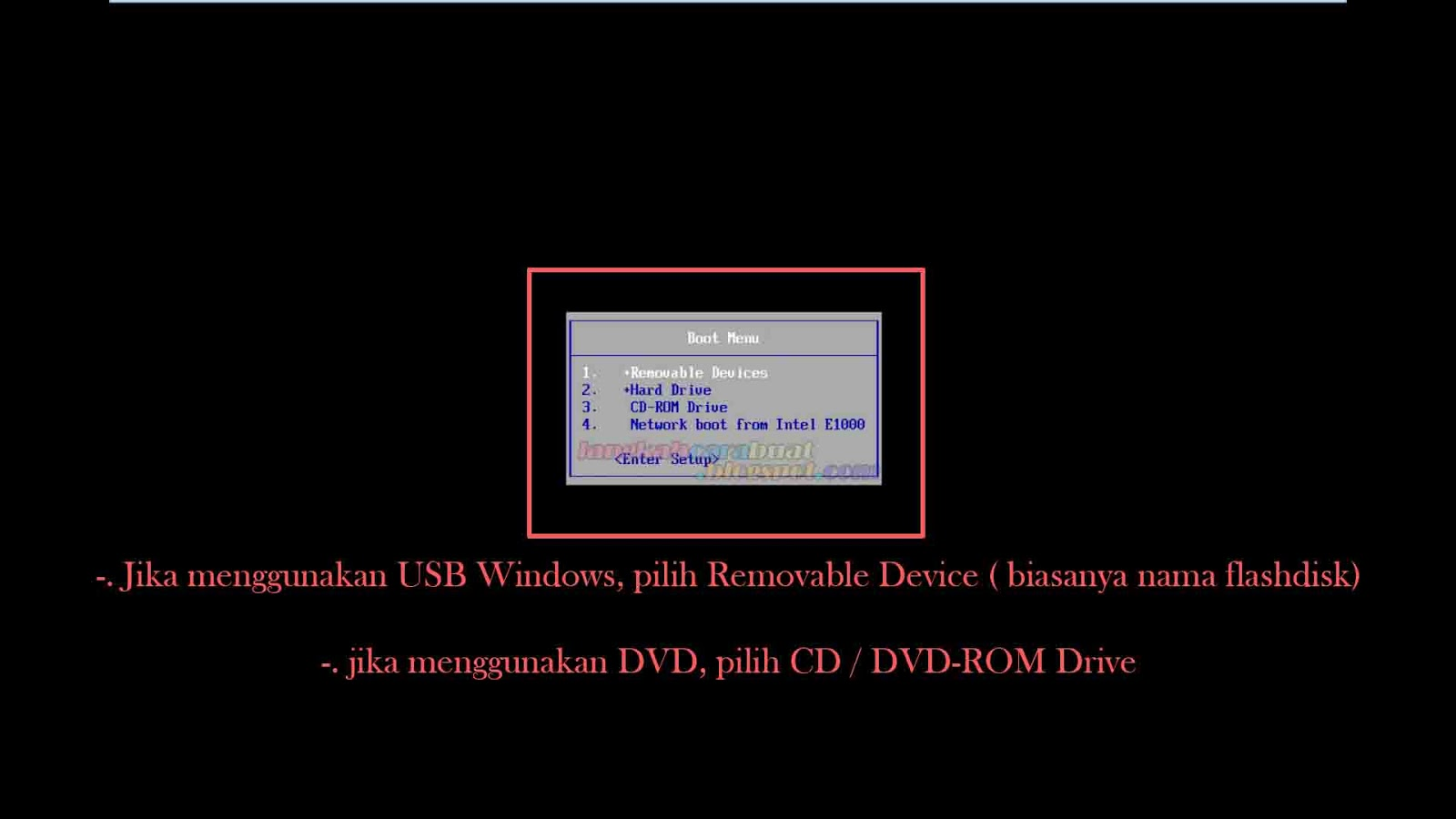 Cara Instal Ulang Komputer / Laptop Menggunakan OS Windows ...