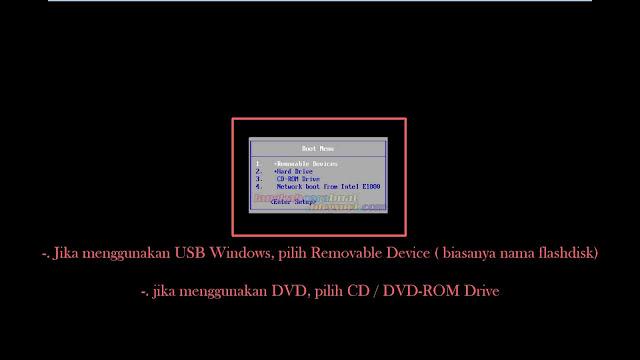Cara Instal Ulang Komputer / Laptop Menggunakan OS Windows 10 Terbaru