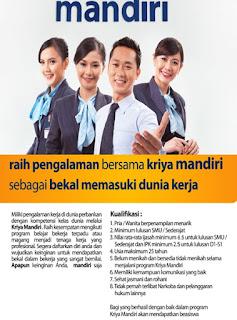 Lowongan Kerja PT. Bank Mandiri