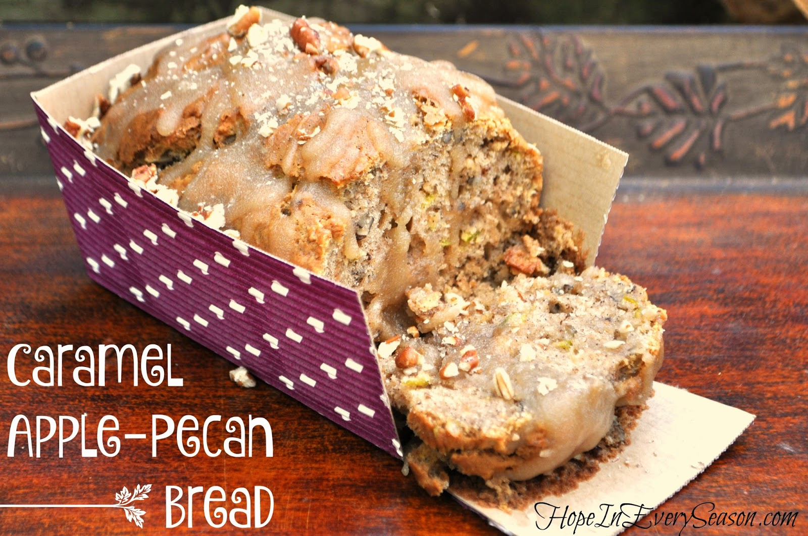 Caramel Apple Pecan Bread Recipe
