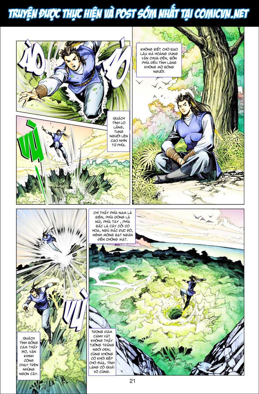 Anh Hùng Xạ Điêu anh hùng xạ đêu chap 39 trang 21