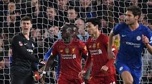 ليفربول يودع كأس الإتحاد الإنجليزي بعد الخساره بثنائية امام تشيلسي