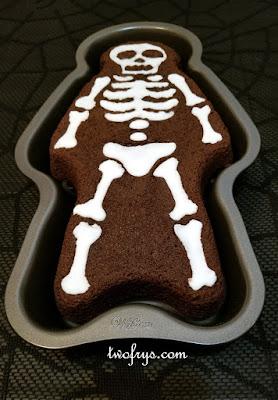 Two Frys Skeleton Cake