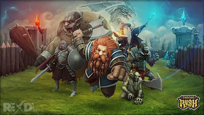 Throne Rush Apk Strategy Games for Android Online