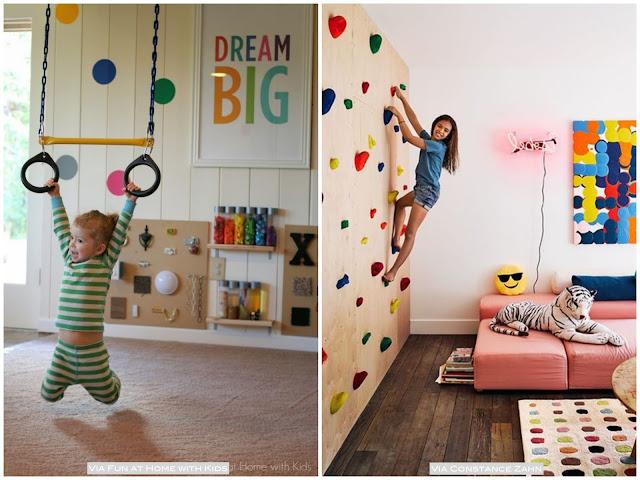 como transformar o quarto em uma brinquedoteca
