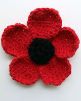 crochet poppy patterns free