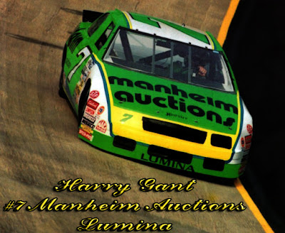 Harry Gant #7 Manheim Racing Champions 1/64 NASCAR diecast blog 1994 BGN age