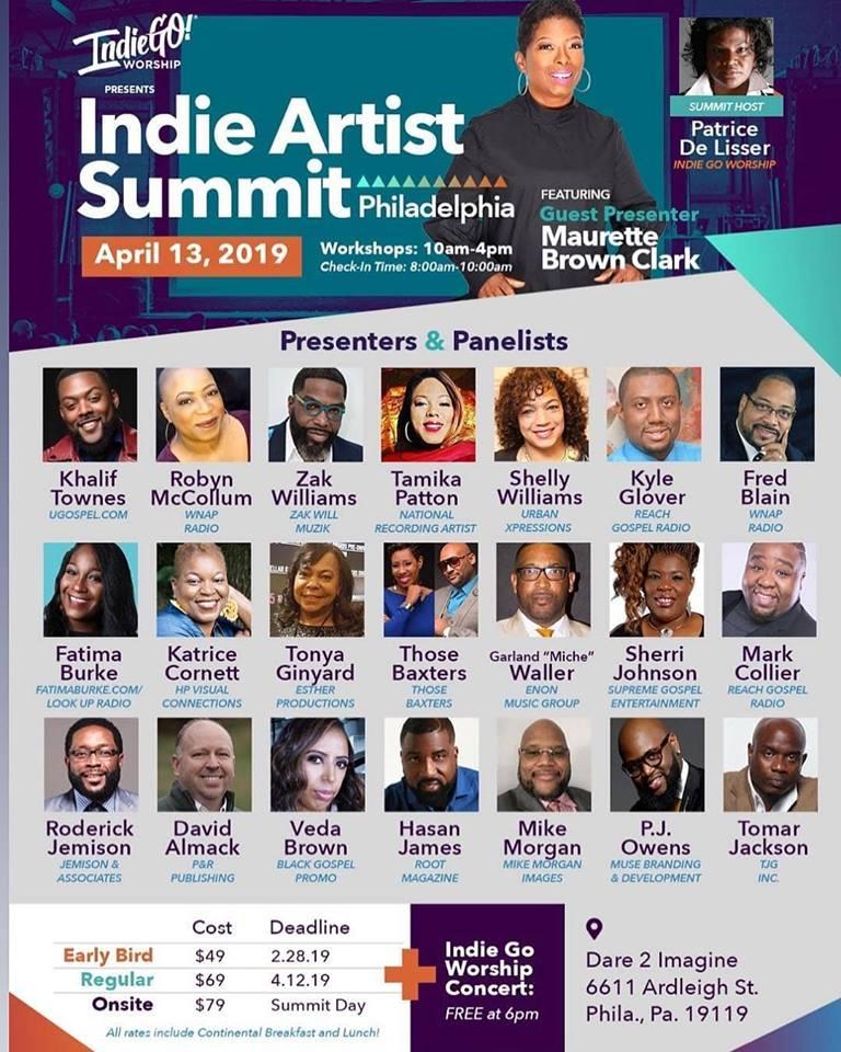 Indie Artist Summit Philadelphia April 13, 2019 - POLONGOTV NET