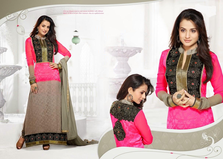 Pakistani Fashion Collection Online Amisha Patel In Bollywood Fashion Designer Dresses