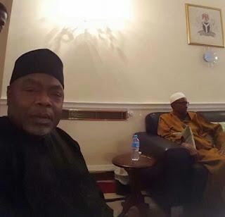 Buhari in UK