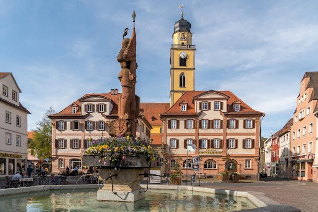 LT 17 Kur und Wein | Wandern in Bad Mergentheim | Liebliches Taubertal Weinlehrpfad Markelsheim | Wanderung um Bad Mergentheim 02