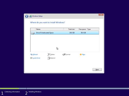 11 - Cara Install Windows 10