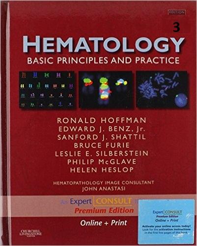 Hoffman - Hematology Basic Principles and Practice 3rd ed  : FREE EBOOK