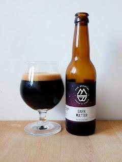 Mad Brewing Dark Matter Imperial Stout dorado y en botella be hoppy Madrid