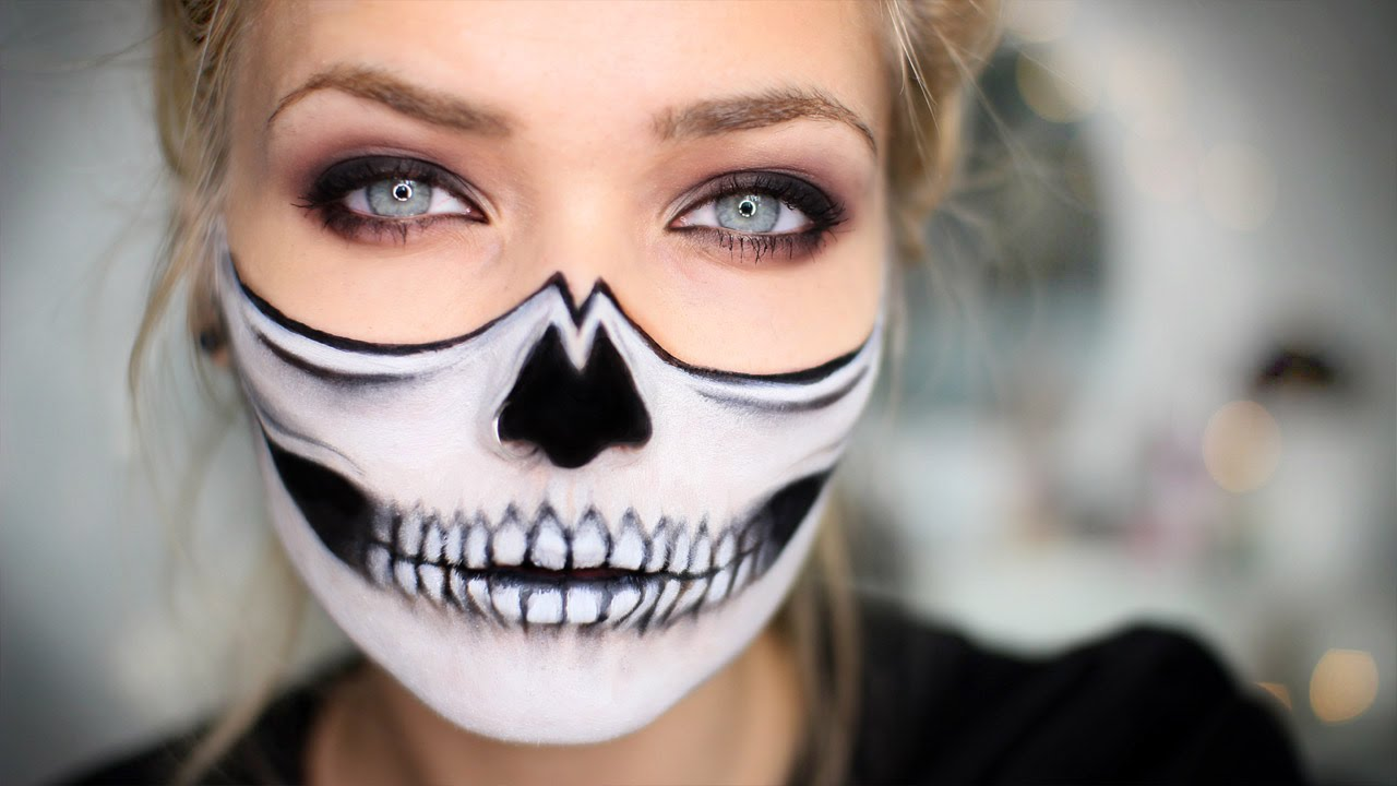 10 Last Minute Easy Halloween Makeup Ideas,Scary But Easy