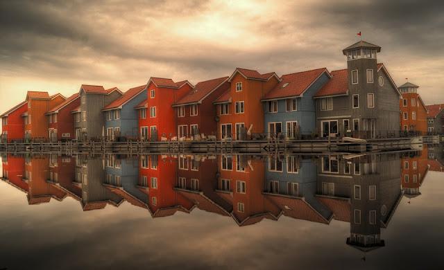 Reitdiephaven, Groningen, the Netherlands