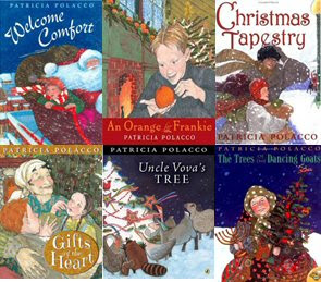 Books to share with your class for the holidays,  All by the wonderful author/illustrator Patricia Polacco