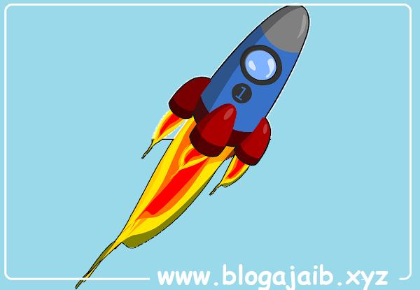 Cara Mudah Membuat Tombol Back to Top dengan Animasi Roket di Blogger