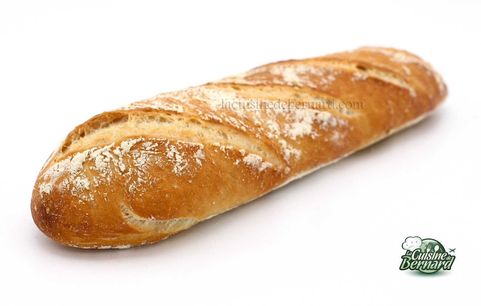 La cuisine de bernard pain blanc maison for Baguette de pain maison