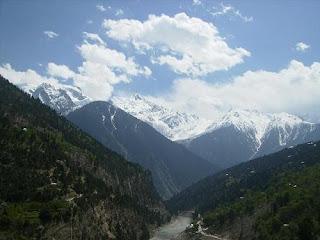 view of kinnaur valley in himachal pradesh