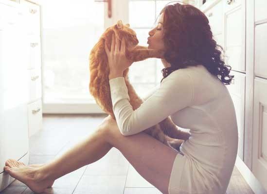 هل تسبب القطط العقم لدى النساء؟