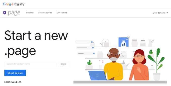 dot-page-new-domain-by-google