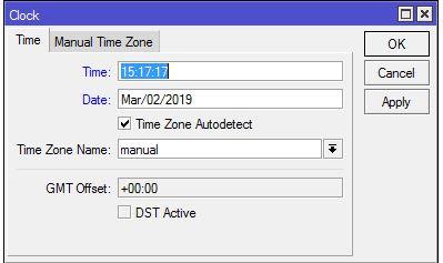 Mengatur waktu limit akses internet