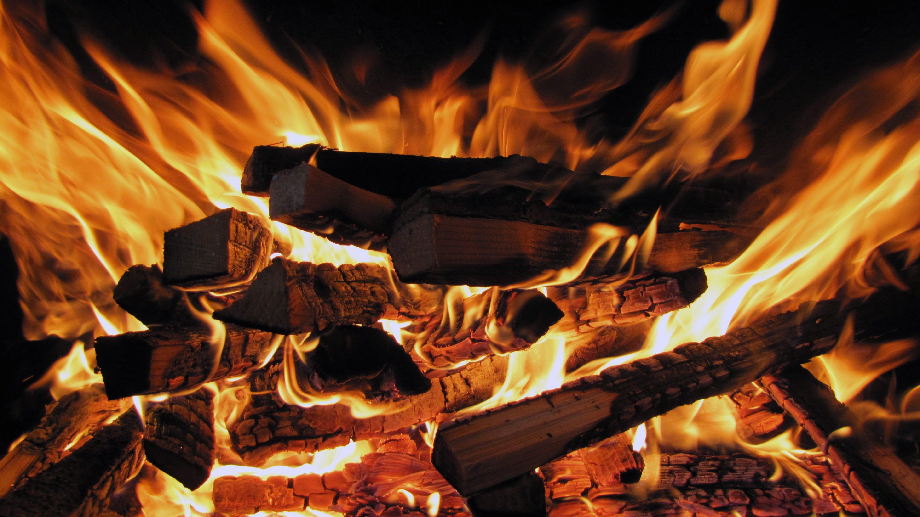 burning wood wallpaper ndash - photo #9