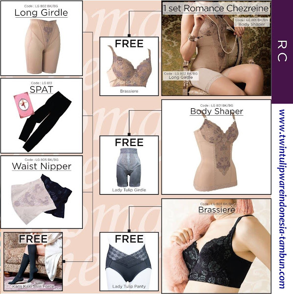 Promo 1 Free 1 Lady Tulip | September 2016