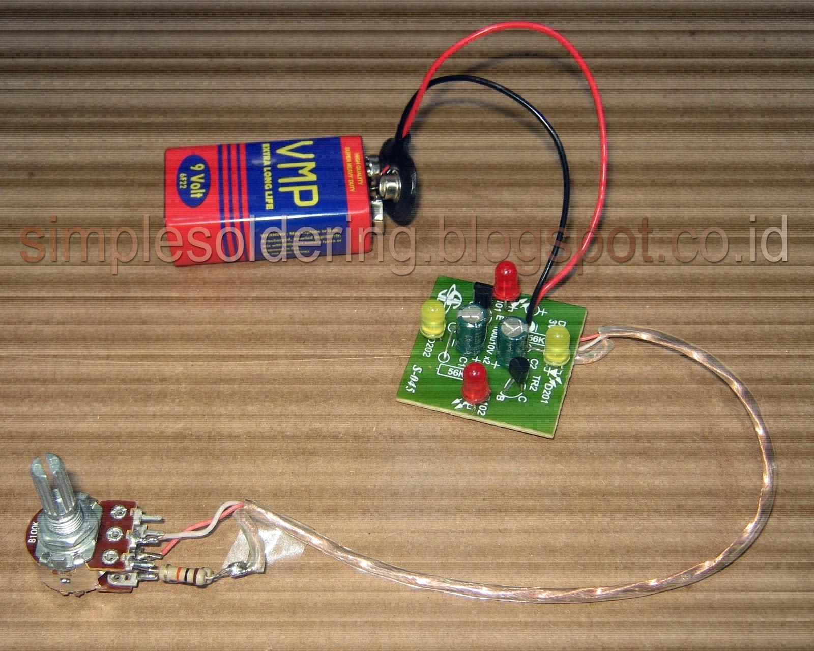 Led Flasher Circuit Flip Flop 2 Ledandlightcircuit Circuit