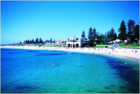 Bãi biển ở Perth, giá vé máy bay đi Úc