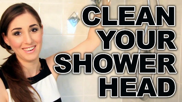 Cleaning shower hear filters