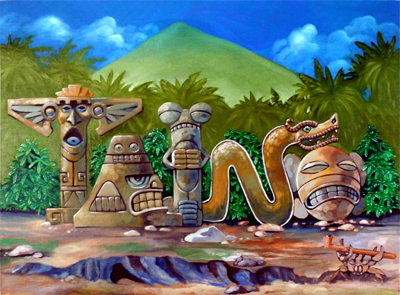 Puerto Rico Taino Indians Symbols And Meanings