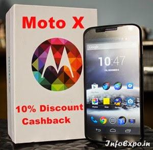 Extra 10% Cash back on Motorola Moto X for Standard Chartered Debit / Credit Cards