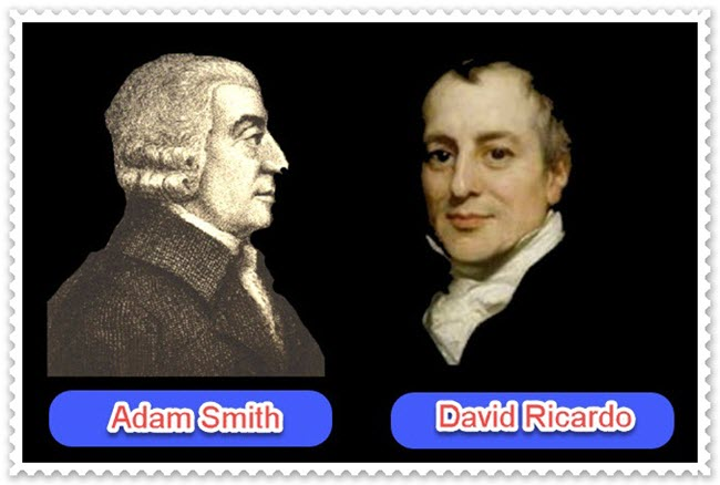 Adam SMith dan David Ricardo