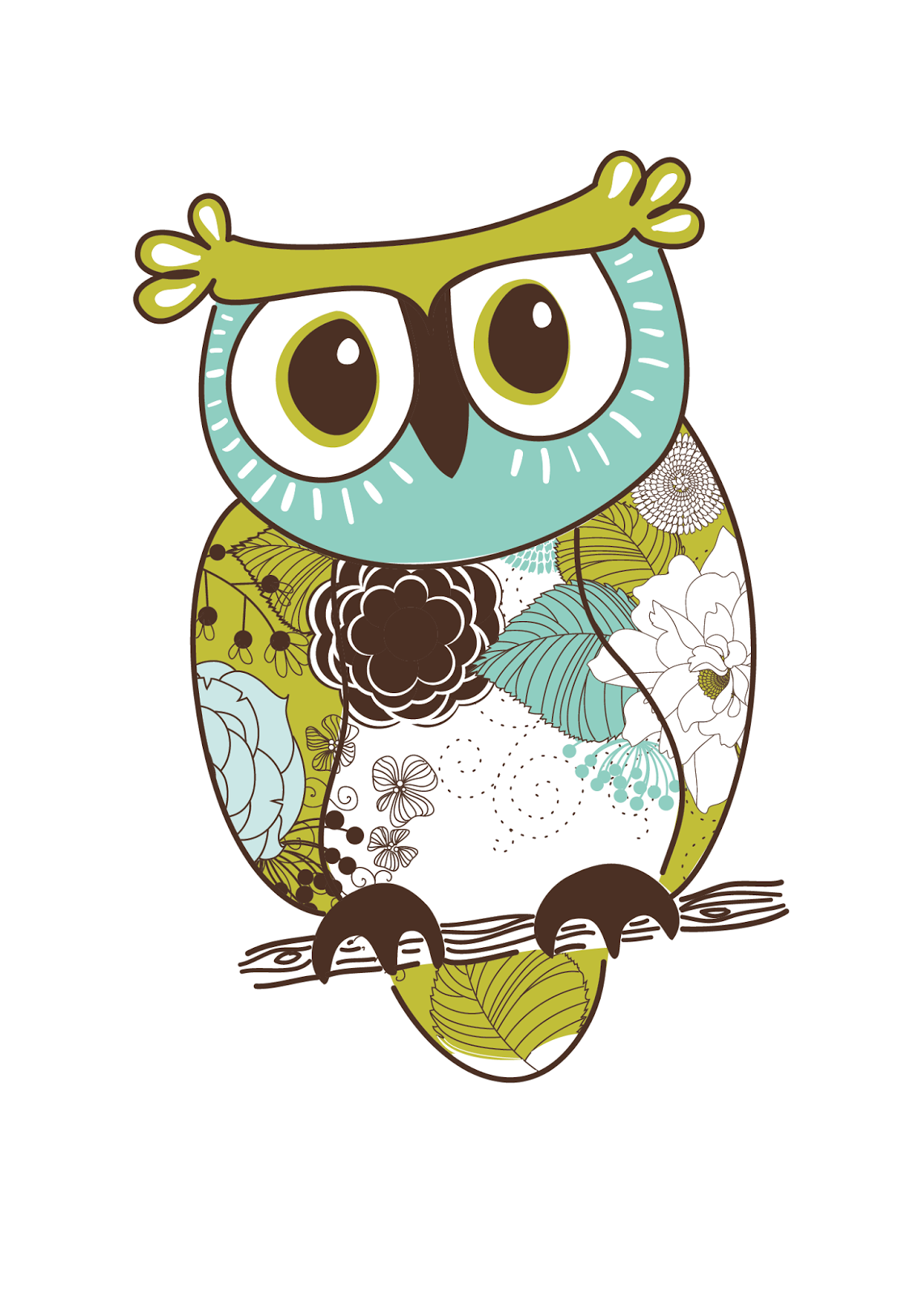 Impertinent image within printable owls