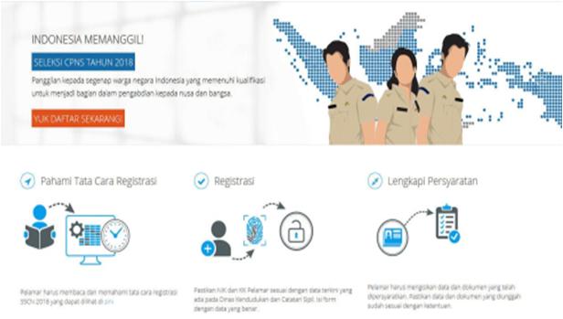 Tata Cara Pendaftaran CPNS Tahun 2018 Melalui Portal SSCN BKN