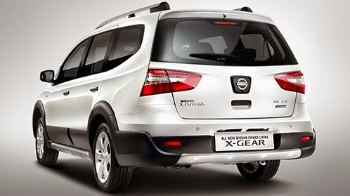 All New Nissan Grand Livina X Gear