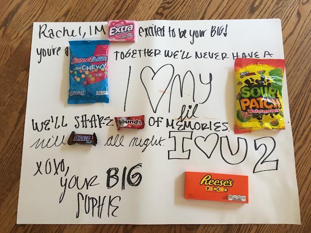 Big/Little Poster Rachel