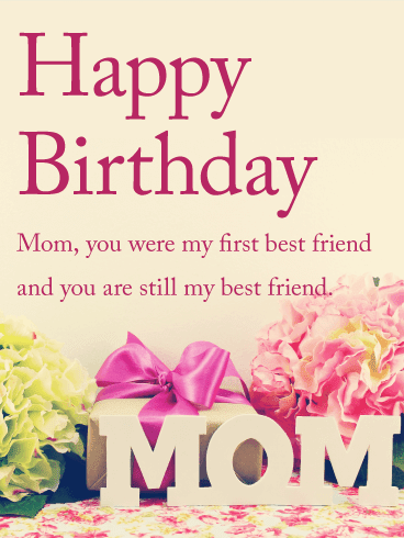 Happy Birthday Mom | Mother Wishes | Quotes | Messages and Images from Son
