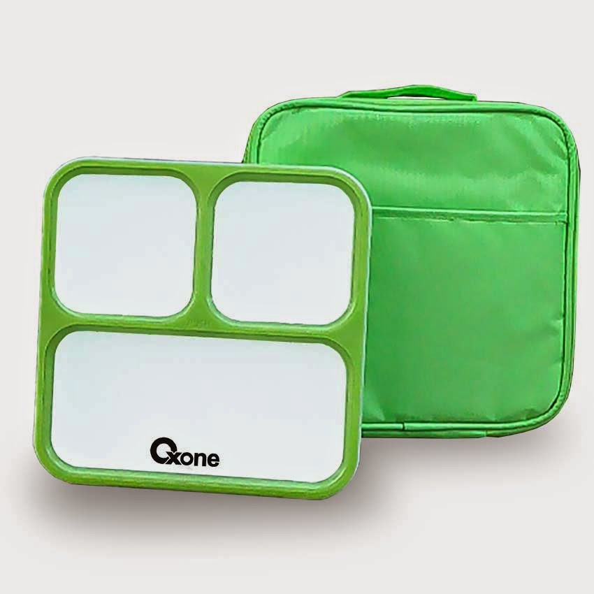 OX-067 Oxone CLASSIC BENTO with Termal Bag - Hijau