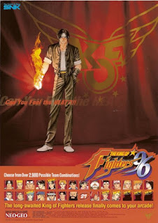 The King of Fighters 96+arcade+game+portable+retro+fighter+art+fkyer