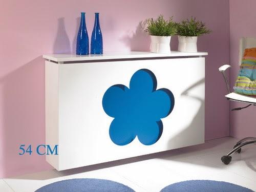 cubreradiador para dormitorios de niños
