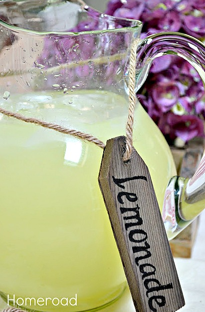 How to Make Repurposed Rustic Beverage Tags. Homeroad.net