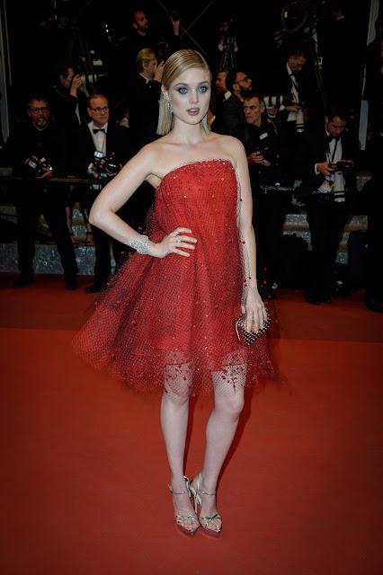 Actress, Model, @ Bella Heathcote - The Neon Demon Premiere, 69th Cannes Film Festival France
